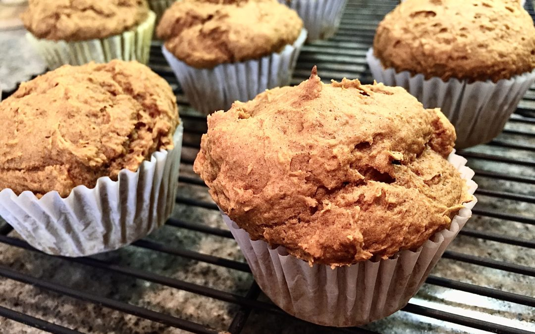 3-Ingredient Pumpkin Spice Muffin Recipe