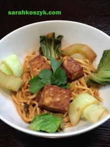 FINAL Tofu Peanut Bok Choy