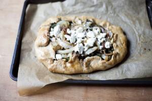 Healthy+Whole+Wheat+Kale+and+Feta+Tart+Dinner+Recipe