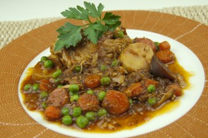 Peruvian Chicken Stew