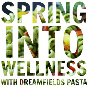 dreamfields spring into wellness logo