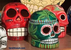 Day of Dead Skulls 2