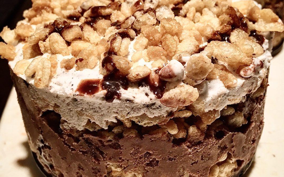 Most Decadent Homemade Ice Cream Cake