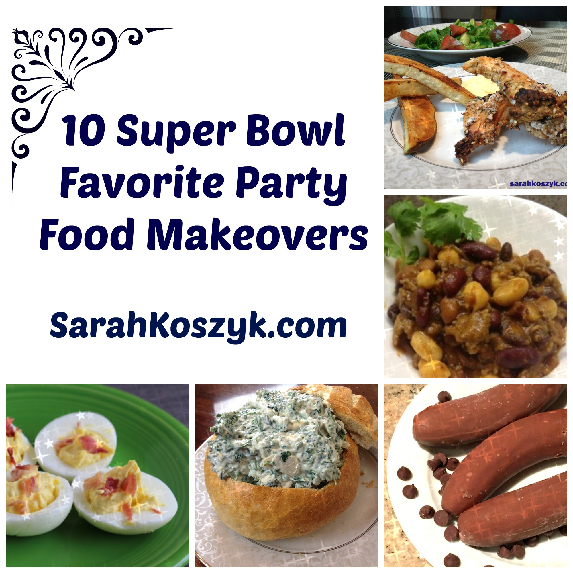 10 Super Bowl Favorite Party Food Makeovers