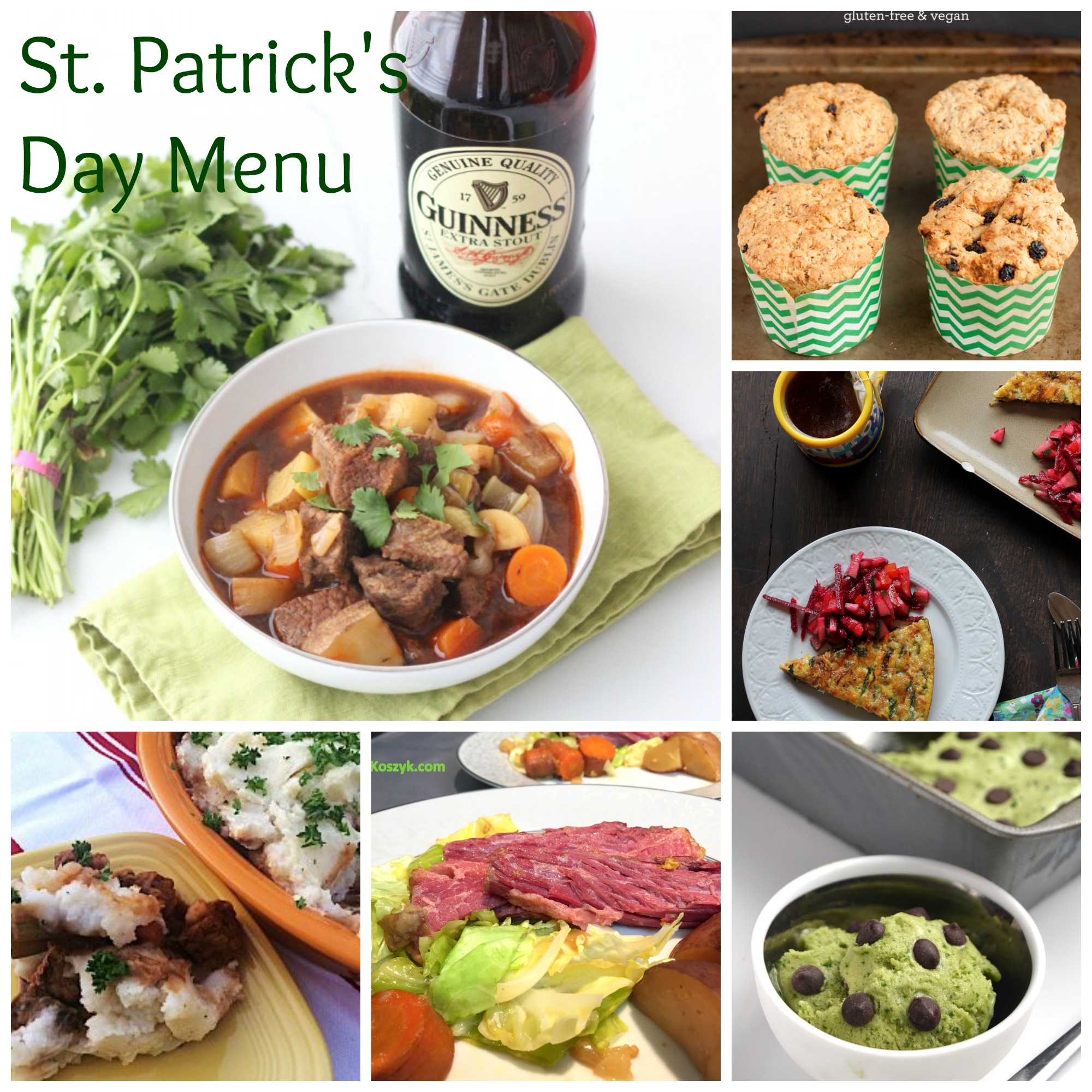 St. Patrick's Day Healthy Recipe Round-Up From Dietitians