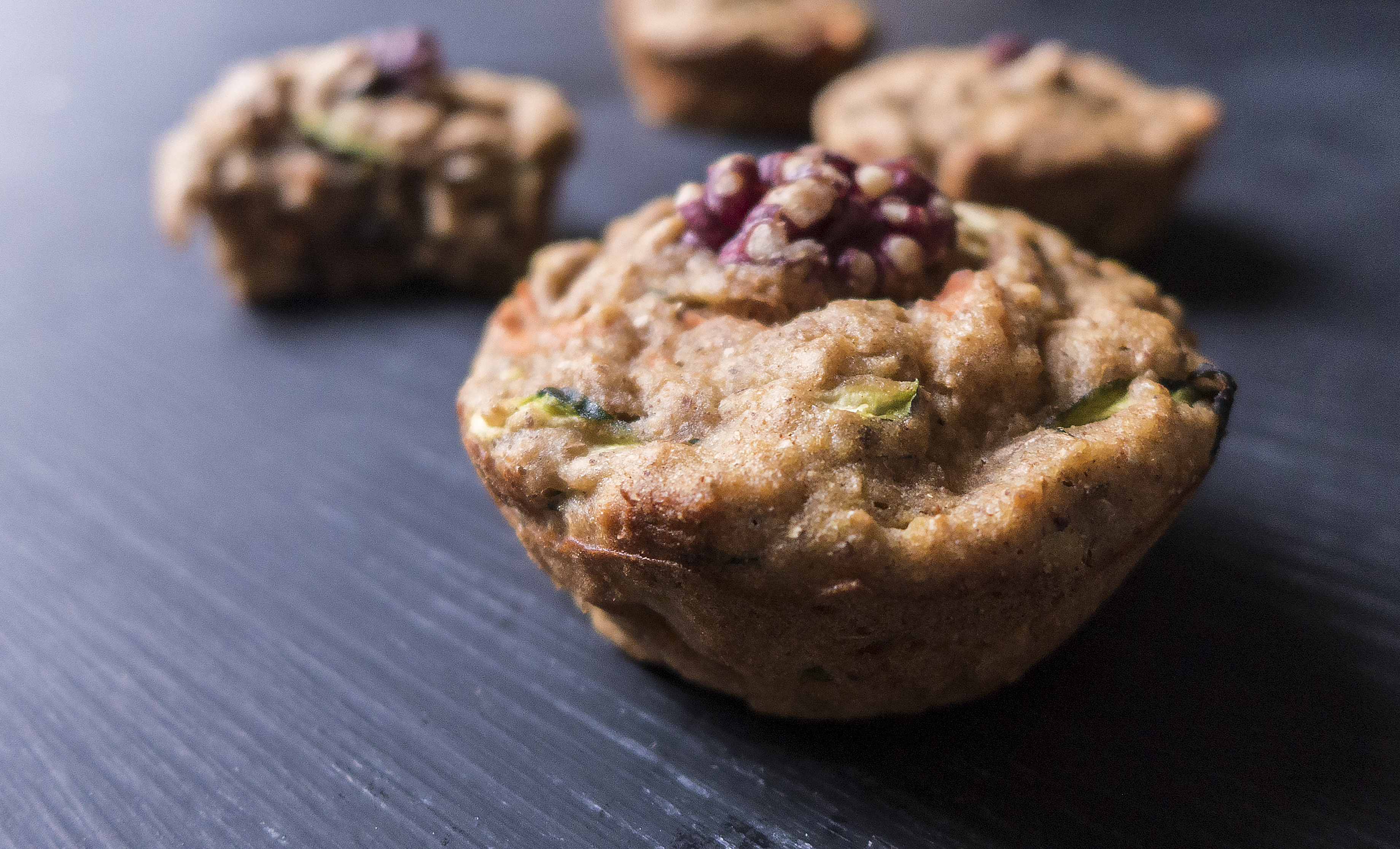 Healthy Zucchini Carrot Muffins