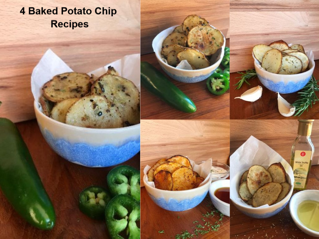 4 Baked Potato Chip Recipes