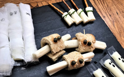 5 Fun and Easy Halloween Treats Using String Cheese